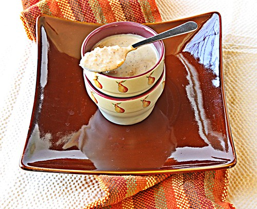 Rice Pudding with cashews, poppy seeds