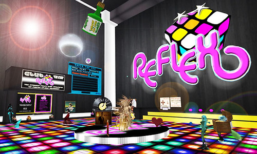club reflex on fierce island