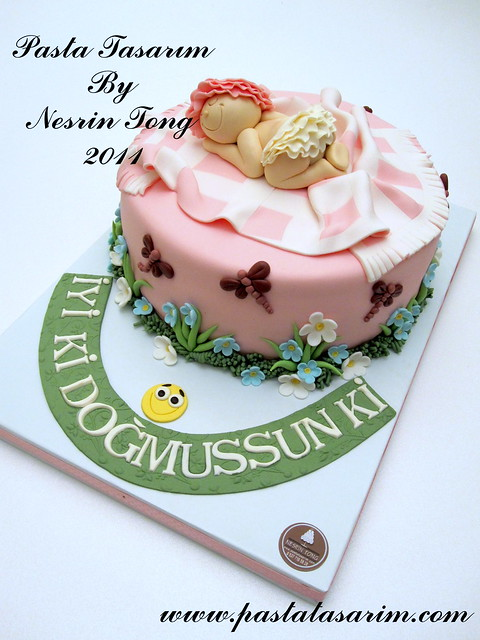 HAPPY BIRTHDAY LITTLE BABY CAKE