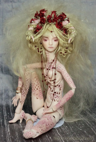 `Venus`,  fine porcelain ball jointed  doll