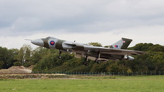 Vulcan Take Off (Colin Hodges) Tags: geotagged aircraft airbus vulcan familyday avro geo:lat=51518298 geo:long=2587848