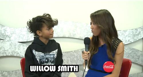 Willow Smith in Nappytabs
