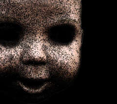 The Darkness (elnosaj) Tags: baby abstract art dark scary haunting