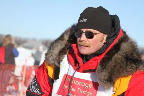 2011 Iditarod Restart_Mitch Seavey 2