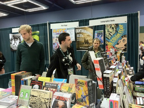 Fantagraphics at Emerald City ComiCon 2011