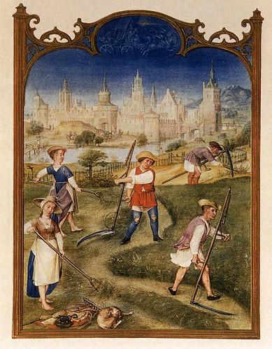 009- Breviario Grimani-Mes de Junio-1490-1510- Biblioteca Nazionale Marciana-Venice