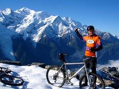 Chamonix Mont-Blanc / Le Brvent (Arnaud Bachelard) Tags: mountain alps bike french bicycling cycling ride chamonix andr montblanc vtt manoukian