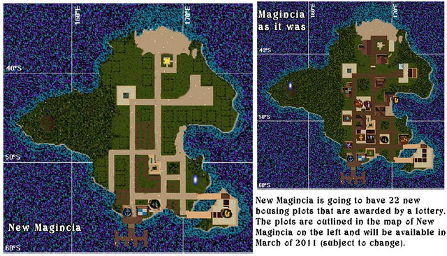 Ultima Online - Map of New Magincia