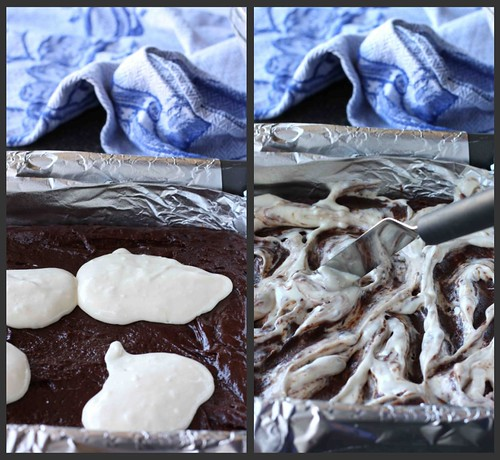 Irish Cream Brownies Collage 2