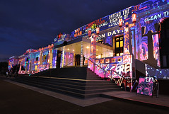 Enlighten - part 2 (screenstreet) Tags: longexposure nightphotography oldparliamenthouse canberrafestival enlightenfestival