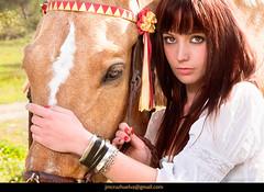 Fashion Portrait Work (Jess Mora) Tags: portrait horse fashion work caballo trabajo chica exterior retrato modelo fotografa
