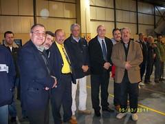 les ould ramoul et l'ex ministre derouaz aziz et l ex gardien de l equipe nationale el hachemi faycl (m_bachir-   -) Tags: 3 sport algerie om handball medea       ouldramoul