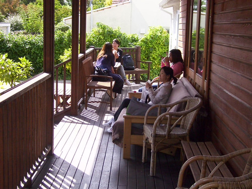 1st day at alternative Christchurch premises