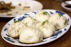 pan fried pork buns @ nan xiang