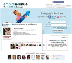 Empire Avenue Signup Page