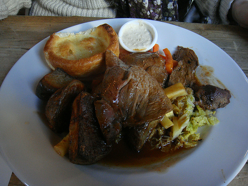The Queens Arms - Roast beef