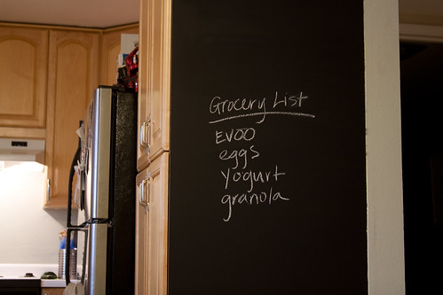 chalkboard-grocery list
