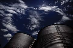 Faulty Fog Flasks (Elwood Photo) Tags: cloud clouds barn canon corn midwest nebraska farm wheat grain wide harvest wideangle bin lincoln 5d elwood markii latter hickman lseries sillo 1635mm canon1635mm elwoodphoto elwoodphotocom 4027707458 canonef1635mmf28liiusm 5dmarkii canon5dmarkii