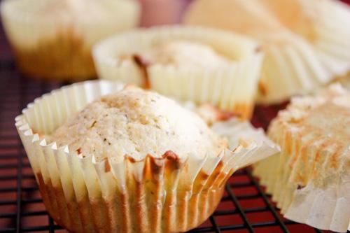 pesto cornbread muffins.
