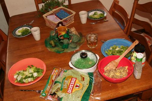 Greenish Dinner