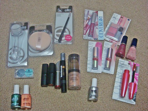 make-up haul from heat warehouse sale