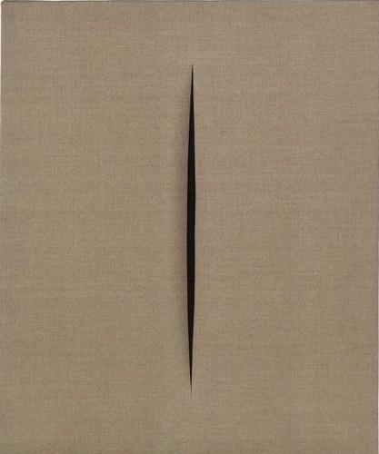 Fontana, Lucio (1899-1968) - 1968 Spatial Concept, Waiting (Sotheby's New York, 2010)