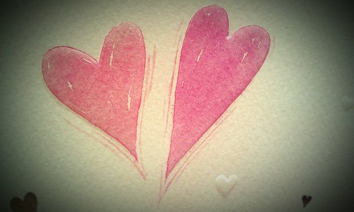 77/365 Two Hearts