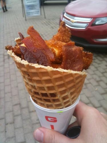 Bacon Cone SXSW11