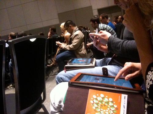 SXSW11 = iPads