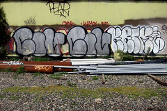 CIV & Krime (Say Cheese & Die) Tags: graffiti oakland pear civ ftl krime kamos