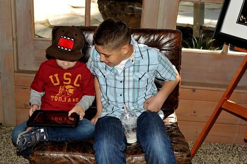 Angry Kid and Jacob, and the iPad.