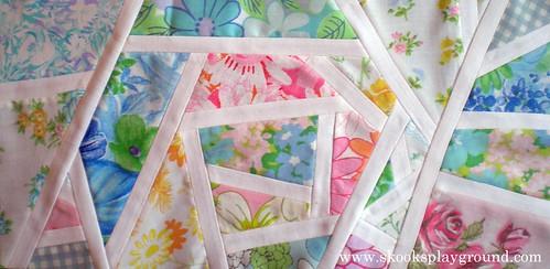 Mod Mosaic Vintage Sheet Block