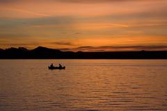 Gone Fishin' (benjaminfhall) Tags: california sunset arizona lake america boat spring fishing break havasu benjaminhall benjaminhallphotocom