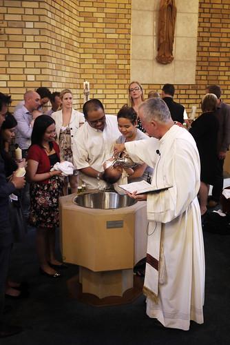 sophia's christening