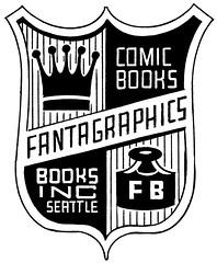Fantagraphics logo by Dan Clowes