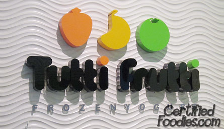 Tutti Frutti Frozen Yogurt - CertifiedFoodies.com