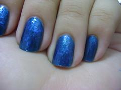 Cora Nobre + BU Flocado (lupy_monteiro) Tags: azul compras cora unha coleção esmalte flocado biguniverso ludurana