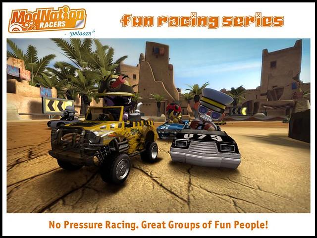 ModNation Racers fan racing series_fun