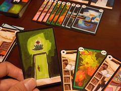 鍵の迷宮カードを捨てて扉獲得!