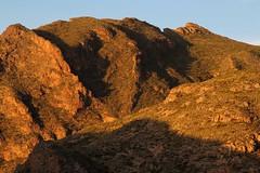 Morgensonne auf der Sierra de Alhamilla