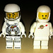 LEGO Collectible Minifigures Series 1 Spaceman vs Classic Space