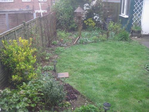 Lower lawn 1 April 2011