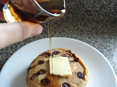 Fiber One Chocolate Chip Pancakes