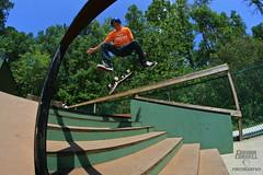 O.P. Park - Varial Heel (Connor Cornell) Tags: park photography connor fisheye flip skate skateboard heel cornell op 35 8mm varial rokinon