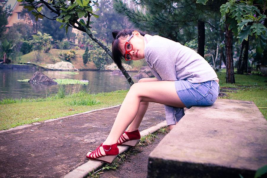 Natalia in Kota Bunga #2