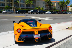 Blue Carbon (Noah L. Photography) Tags: laferrari orange blue carbon fiber car sportscar supercar hypercar hybrid italian ferrarinewportbeach newportbeach