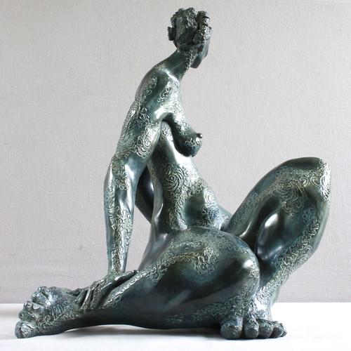 Alice - Sculpture - Bronze - Francine - Auvrouin - 2011