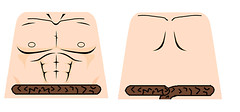 nappa topless (teamfourstud) Tags: decals decal god z ball dragon dbz bragonball custom minfigure saiyan lego nappa
