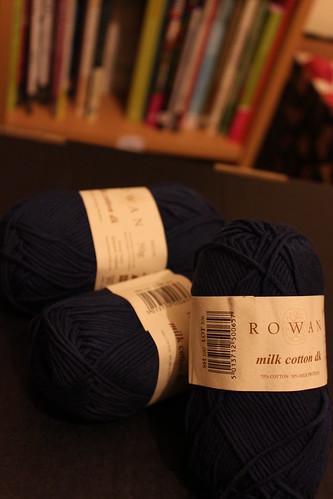 Rowan Milk Cotton DK