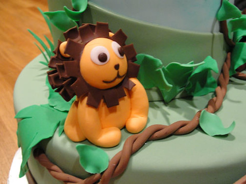Baby Jungle Cake for Tiffany 8